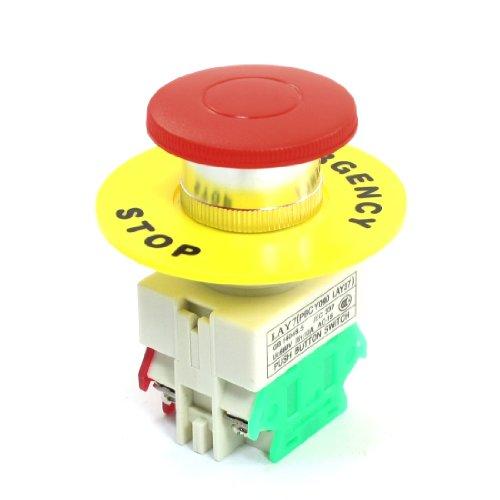 X-Dr Interruptor momentáneo de botón de cabeza de seta roja 660V 10A w Cubierta protectora (f6d0cae084f2a907d57e007a9df3ad81)Características: 4 terminales de tornillo, interruptor de botón con cabeza de seta y cubierta protectora. El interruptor está...