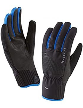 SealSkinz–Helvellyn XP impermeable guantes–negro/azul, Unisex, Helvellyn XP Waterproof, negro/azul, small