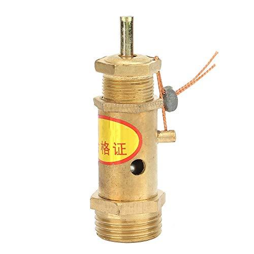 Válvula de Compresor de Aire G1 / 2, Válvula de Presión de Liberación de Seguridad de Latón para Generador de...