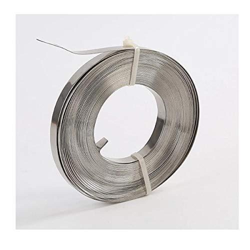 1 Rolle Verpackungs-Stahlband 16 x 0.5mm gebl/äut ✔ Scheibenwicklung ✔ f/ür Umreifung
