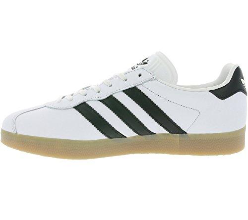 adidas Gazelle Super, Sneakers Basses Homme Blanc (Vintage White/core Black/gum)