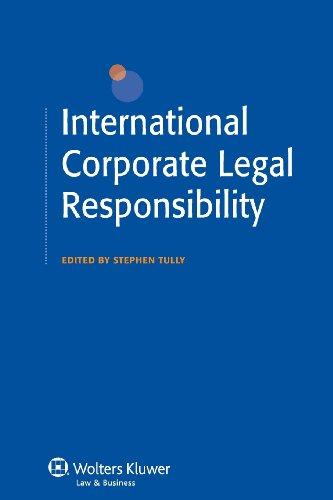 International Corporate Legal Responsibility