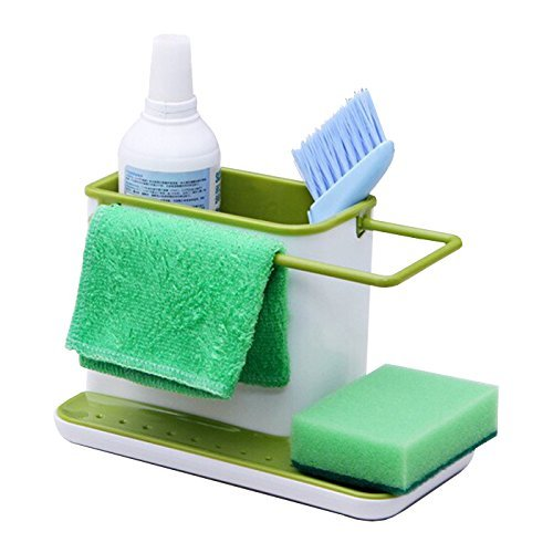 Kitchen Self Draining Sink Stand For Sponge Brush Organiser  available at amazon for Rs.348