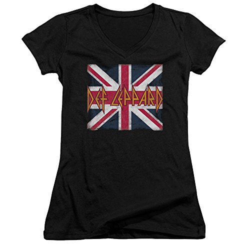 Women's Union Jack V-Neck T-Shirt. XX-Large