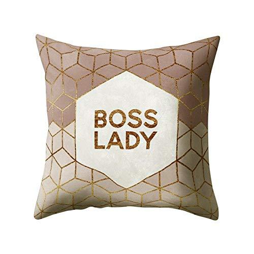 Auied Geometrisches Design Kissen Platz Dekokissen Kissenbezug Pillowslip