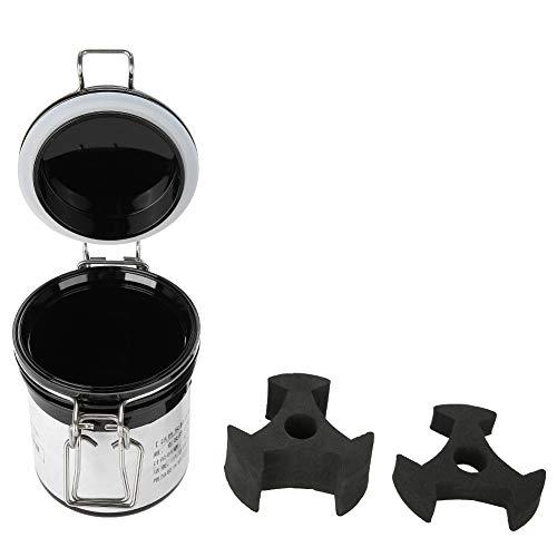Wimpernkleber-Vorratsbehälter, Wimpernkleber-Vorratsbehälter-Aktivkohle versiegelte Vorratsglas-Beweis-Behälter-Zylinder - Vakuum Versiegelt Lagerung