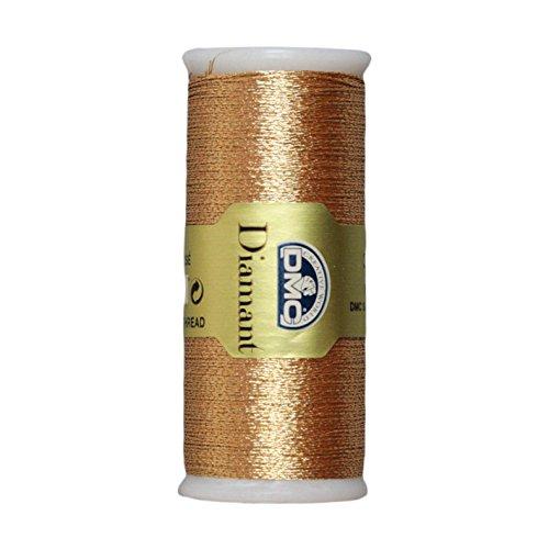 DMC Diamant Metallic Thread 38.2yd-Copper