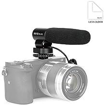 Meike–mk-mp5Mono Audio pastilla tubo cámara micrófono de grabación para Canon/Nikon/Sony/Fujifilm/Olympus/Panasonic/Pentax Cámara Zapata