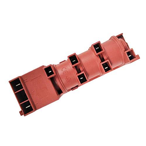 LYCOS3 220-240 V AC Pulszünder Gasherd Safe Tool Zündgerät AC Zündgerät Puls Küche Zuhause von Steckdosen für Anschluss an Heizung Zubehör, Wie abgebildet, 6 terminal Connections