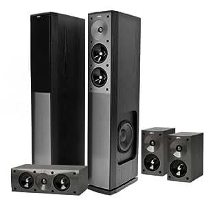 Jamo S 606 HCS 3 5.0 Lautsprechersystem (810 Watt) schwarz