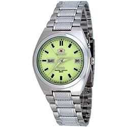 Orient # fem5l00qr Herren Tri Star Luminous Zifferblatt selbst Aufziehen Automatik Uhr