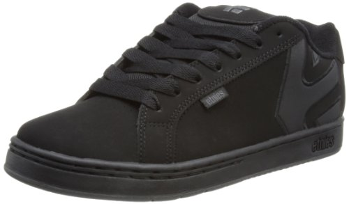 Etnies - Fader, Scarpe Da Skateboard da uomo, nero (013 / black dirty wash), 44