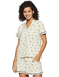 Amazon Brand - Eden & Ivy Women's T-Shirt & Shorts Set