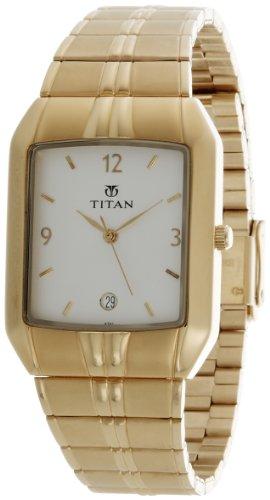 Titan Karishma Analog White Dial Men's Watch – NE9264YM01A