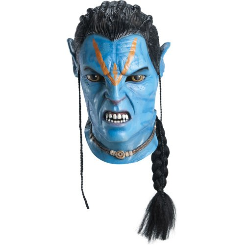 Avatar - Latex Maske Jake Sully (in One (Maske Avatar Sully Jake)