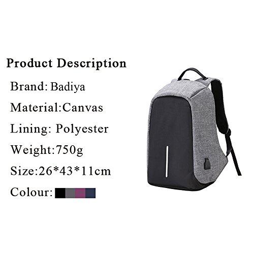 Badiya, Poschette giorno donna Donna, black (nero) - BP05807BK purple