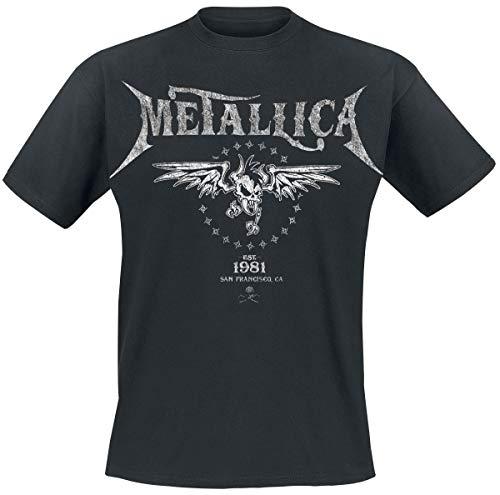 Metallica Biker Camiseta Negro 3XL