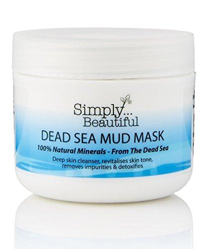 Gesichtsmaske mit Schlamm aus dem Toten Meer - tiefenreinigende, klärende & ausgleichende Wirkung