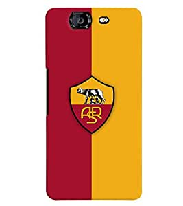 TOUCHNER (TN) Team Logo Back Case Cover for Micromax Canvas Knight A350
