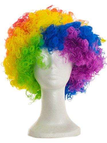 Boland 86021 - Parrucca Afro Riccia, Multicolor