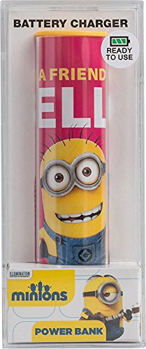 Tribe Minions Friendly USB Portable Universal Power Bank External Battery Charger for Smartphone