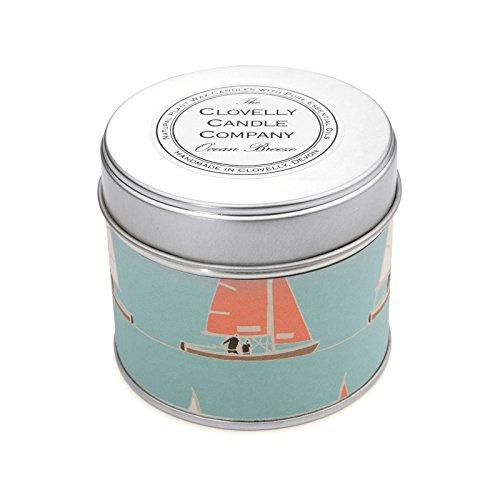 Clovelly Candle Co. Natürliche Handgefertigte Duftende große Dosenkerze Meeresbrise aus Sojawachs