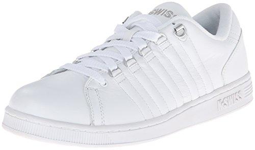 k-swiss-lozan-iii-sneaker-basse-donna-bianco-white-white-silver-36-eu