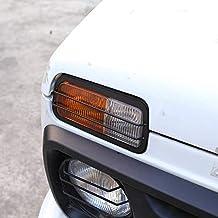 2 x Aluminio Aleación Frontal Antiniebla Lámpara Marco Trim para NIVA Car Accesorios.