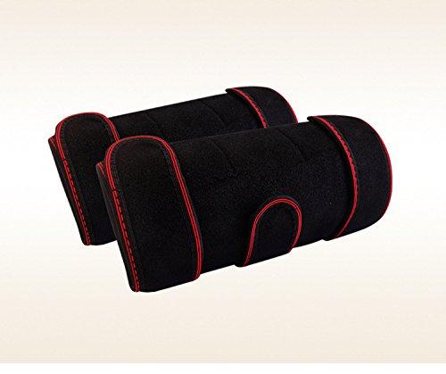 yukefeng Tourmaline imán caliente moxibustion terapia rodilla cinturón de apoyo (ajustable Self calefacción rodillera par)