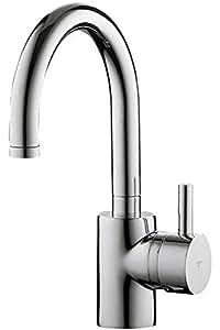 Ideal Standard A3637AA 7896255 Celia Pic Robinetterie de lavabo avec garniture excentrique Chromé