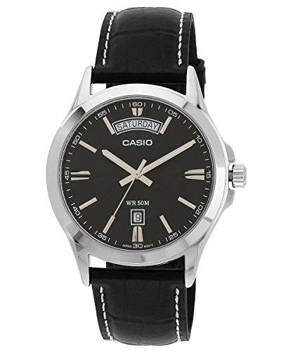 41xardJyigL - Casio Enticer Mens MTP 1381L 1AVDF A844 watch