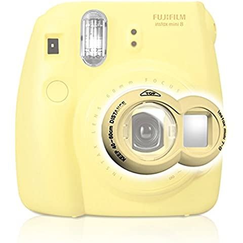 Takashi Shoot Mirror Selfie Close-Up Lens–Yellow for Fujifilm Instax Mini 7S/8Instant