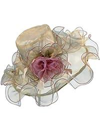 Sombrero para El Sol Mujer Verano para Elegante Protector Modernas Casual  Solar Sombrero para La Playa 6e99b085205f