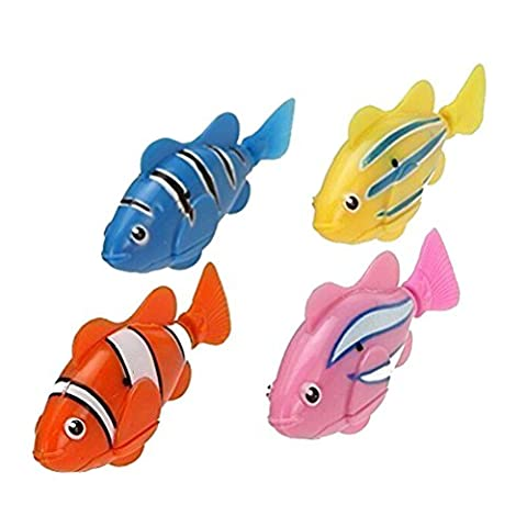 2 PCS Lifelike Electronic Toy Mini Robotic Fish Swimming Robot Fish for Kids