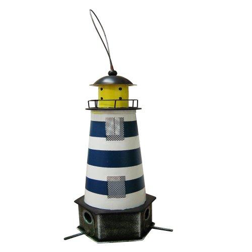 Habau 1788 Futtersilo Leuchtturm blau