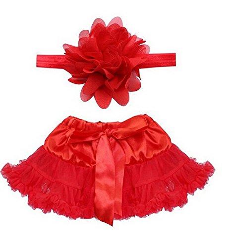 Happy Cherry Baby Mädchen Tüllrock Kostüm Tutu Rock Fotografie Outfits Prop Outfits Neugeborene Tütü Rock Tutu Kleidung Prinzessin Rock für Baby 0-12 Monate (Roll And Baby Kostüme Rock)