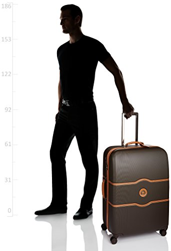 DELSEY CHATELET HARD + Koffer, 77 cm, 112 liters, Braun (Chocolat) -