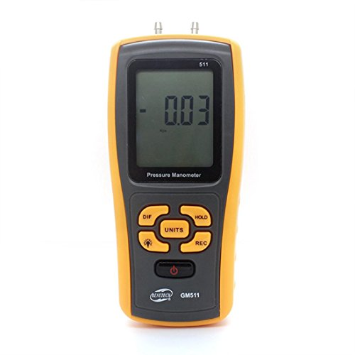 LDD Hand-Differential Druckmessgerät Messgerät Manometer USB GM511 Digital Tester