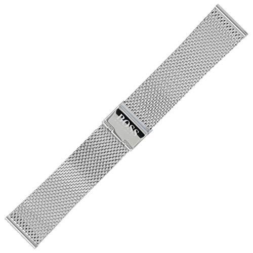 Hugo Boss Uhrenarmband 22mm Edelstahl Silber - 659002599