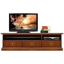 mueble de tv bajo cajones mueble tv en madera mueble bajo de saln
