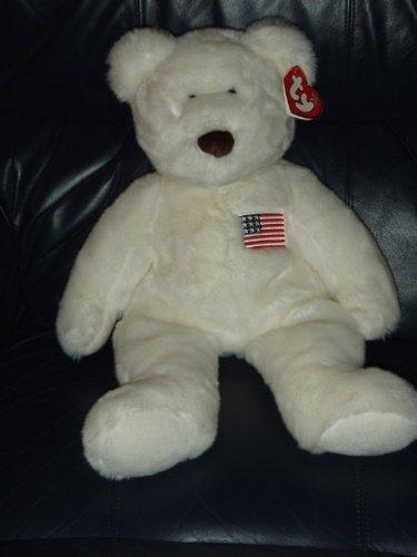 Libearty Bear (Ty Large Libearty Beanie Baby Bear by Ty Inc.)