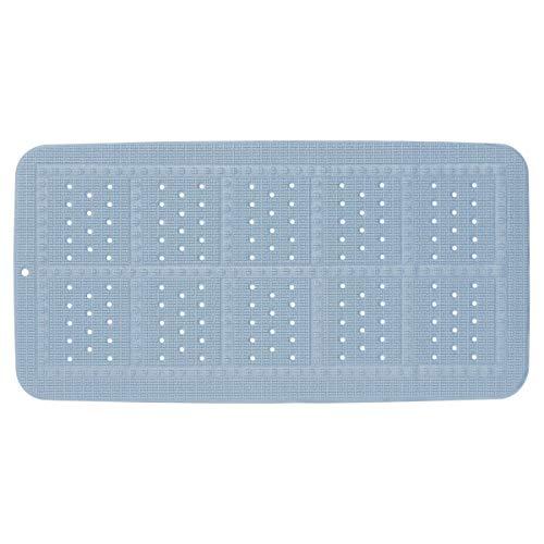 Sealskin Unilux Badewanneneinlage, Sicherheitseinlage für Badewanne und Dusche, Farbe: Blau, Größe: 70x35 cm
