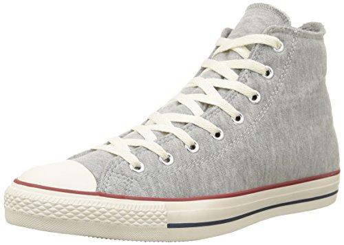 Converse, All Star Hi Fleece Sneaker,Unisex Adulto Grey Melange
