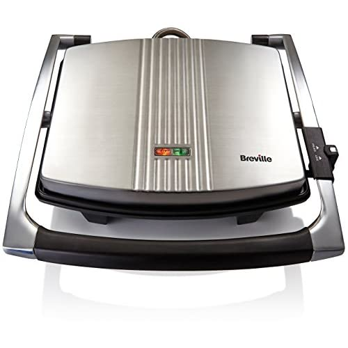 41xayFwQfAL. SS500  - Breville Sandwich/Panini Press and Toastie Maker, 4-Slice, Stainless Steel [VST026]