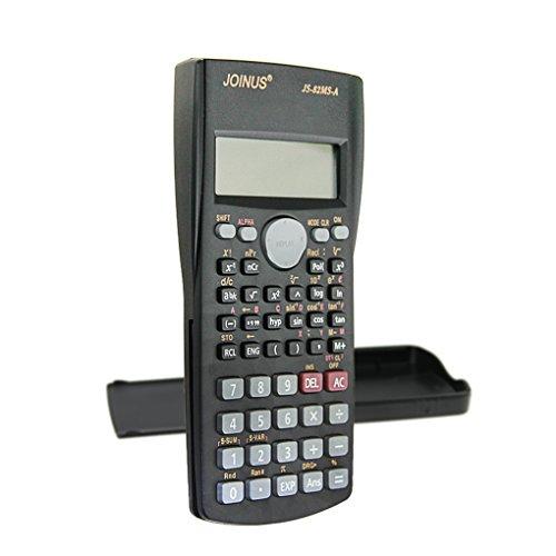 Wissenschaftlicher Taschenrechner Schulrechner Rechner Calculator zweizeilig mit 240 Funktionen Batteriebetrieb