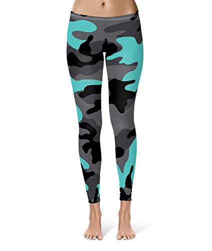 oscuro-camuflaje-brillante-azul-leggings-xs-3-x-l-lycra-gimnasio-yoga-longitud-completa