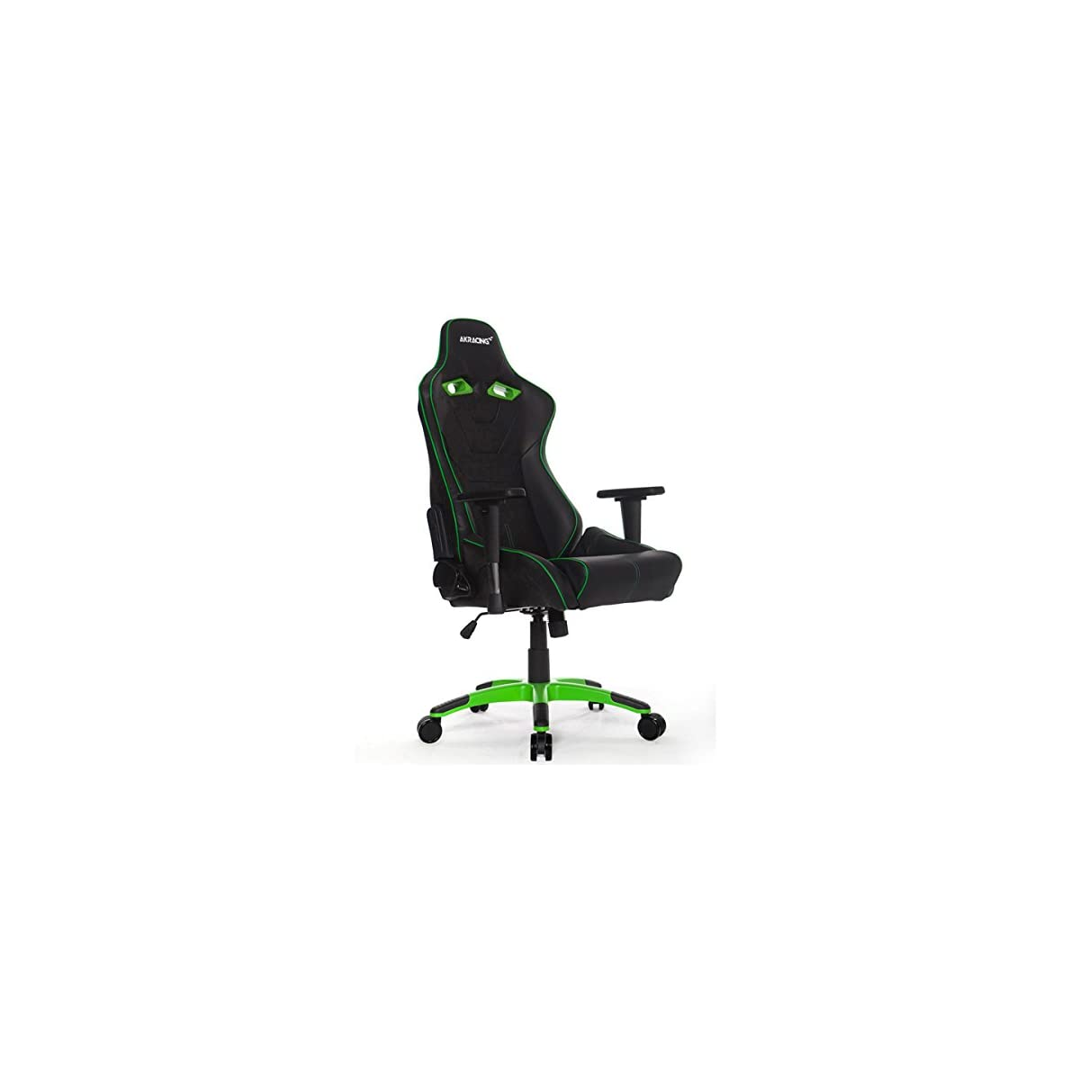41xb%2BBcWZ9L. SS1200  - AKRacing NW - AK-NW-BG - Silla Gaming, Color Negro/Verde
