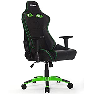 AKRacing NW – AK-NW-BG – Silla Gaming, Color Negro/Verde