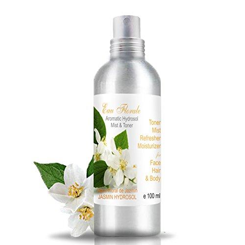 Acqua floreale del Gelsomino 100 ml - Tonico viso Jasmin 100% Naturale