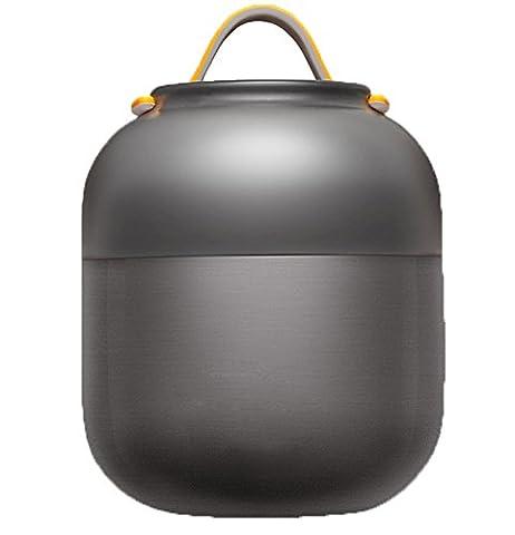 mdrw-stainless Stahl Barrel, Glimmende Topf, Kinder Lunchbox Studenten halten Boxen,